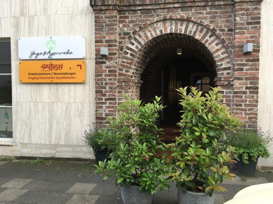 Eingang Gewölbekeller Gin Workshop