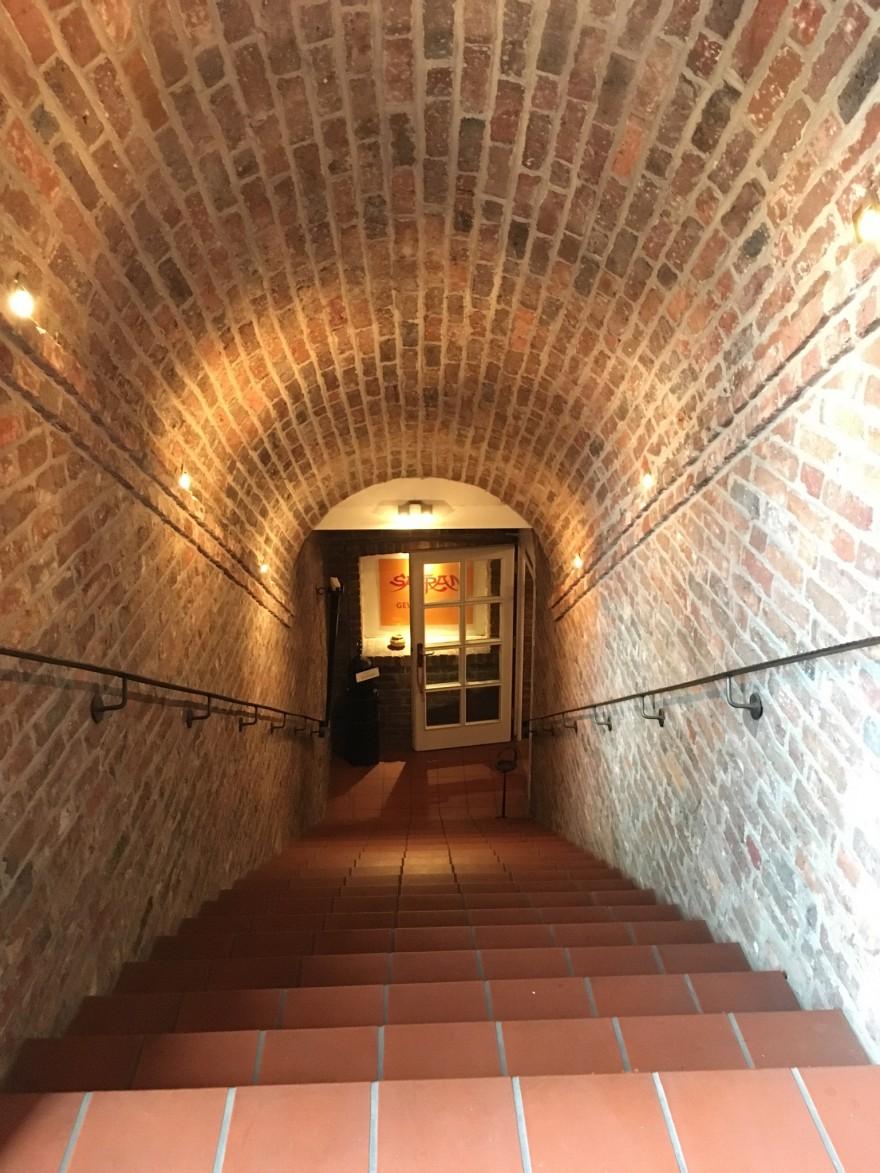 Treppe zum Gewölbekeller