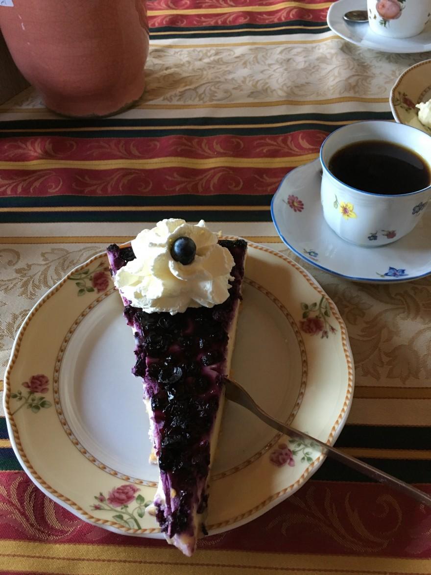 Café Waldsee Blaubeertorte