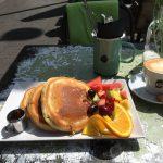 Pancake bei Herr Pimock Großaufnahme