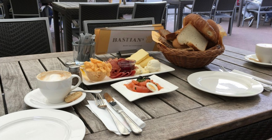 Frühstück im Bastian's Köln