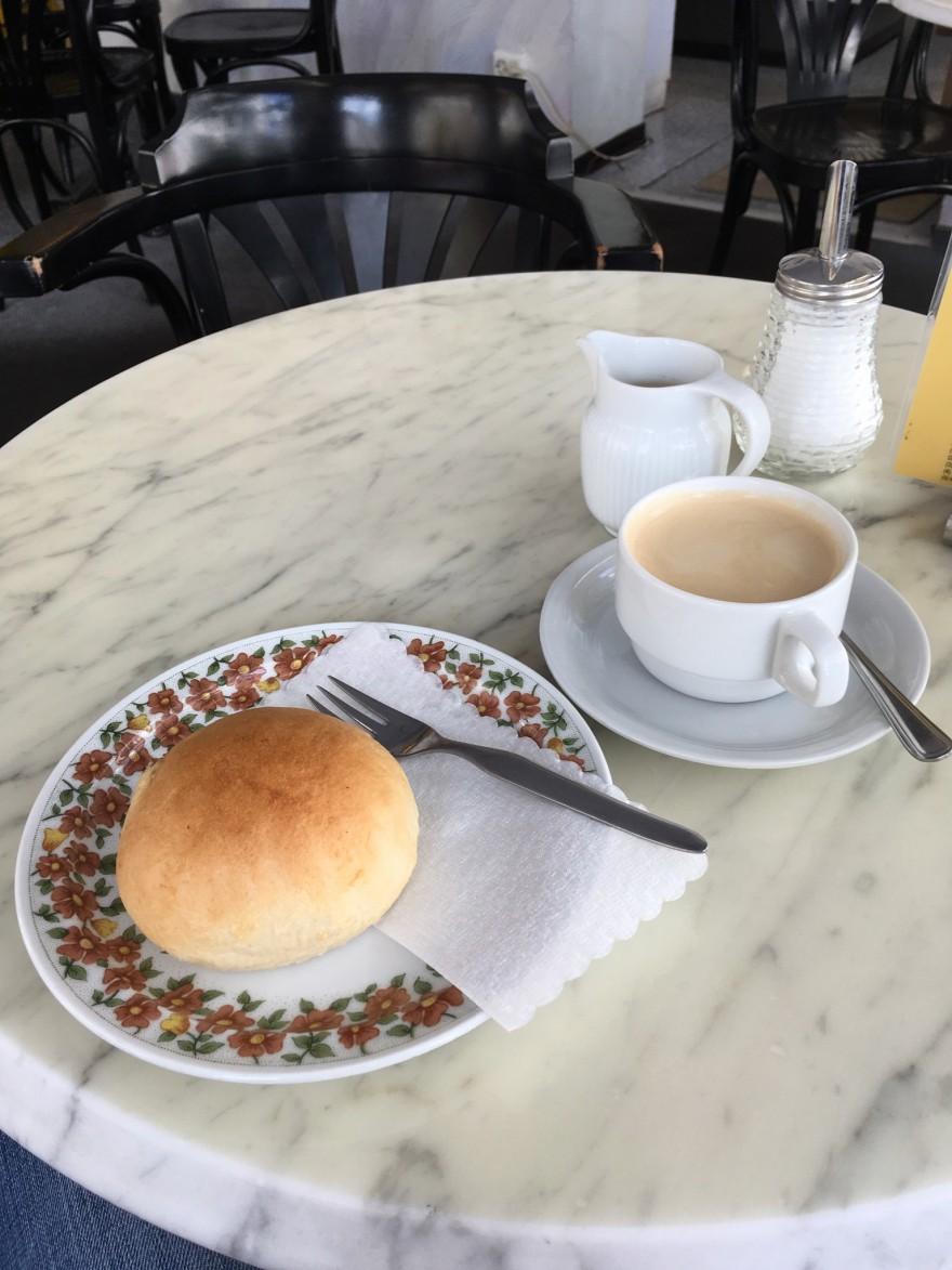 Rosinenbrötchen in Bielefelds ältester Bäckerei