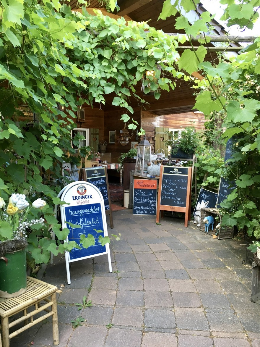 Eingang Café Waldsee