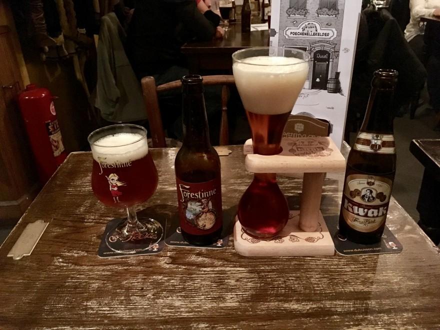 Bier im Poenchellekelder