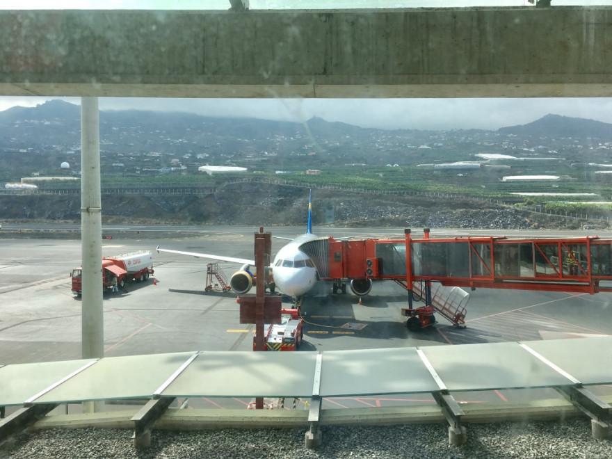 Goodbye La Palma Flugzeug