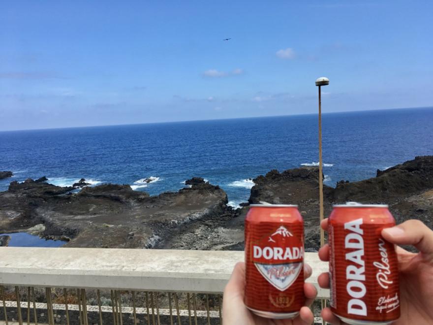 Goodbye La Palma letztes Bier