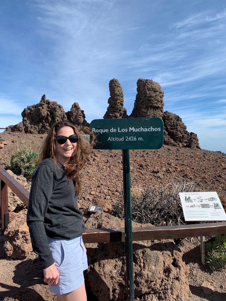 Roque de los Muchachos Hikinggirl 1
