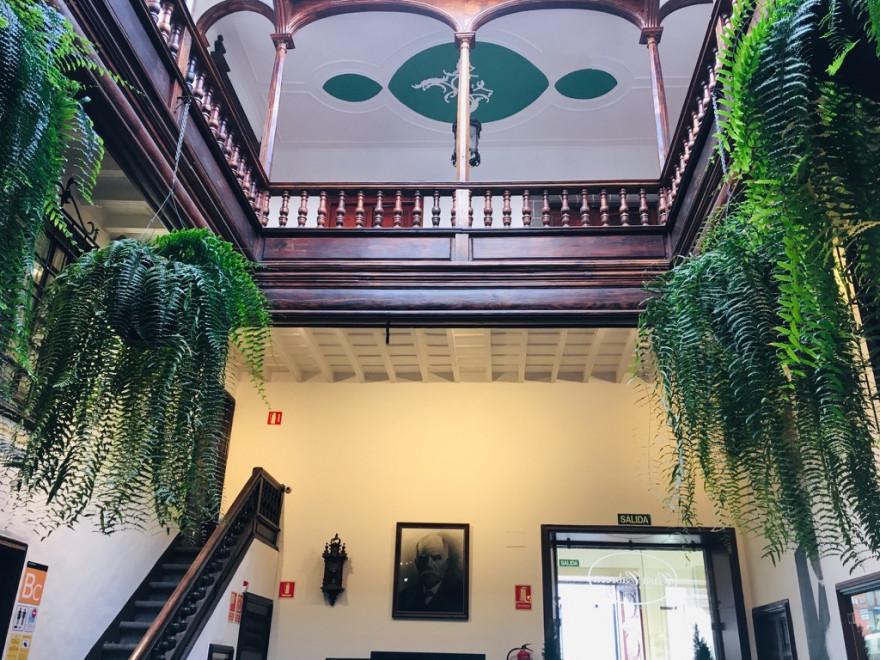 Santa Cruz de La Palma Cafe de Don Manuel Decke