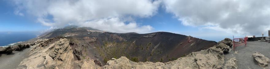 Volcan San Antonio Panorama