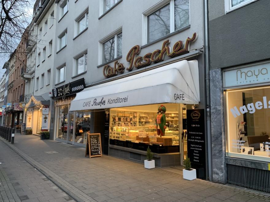 Cafe Pascher Köln Aussenansicht