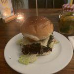 Spaceburger Düsseldorf Burger Nahaufnahme