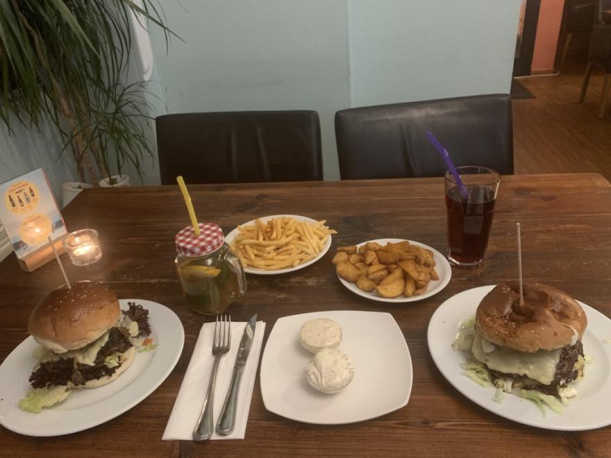 Spaceburger Düsseldorf Burger
