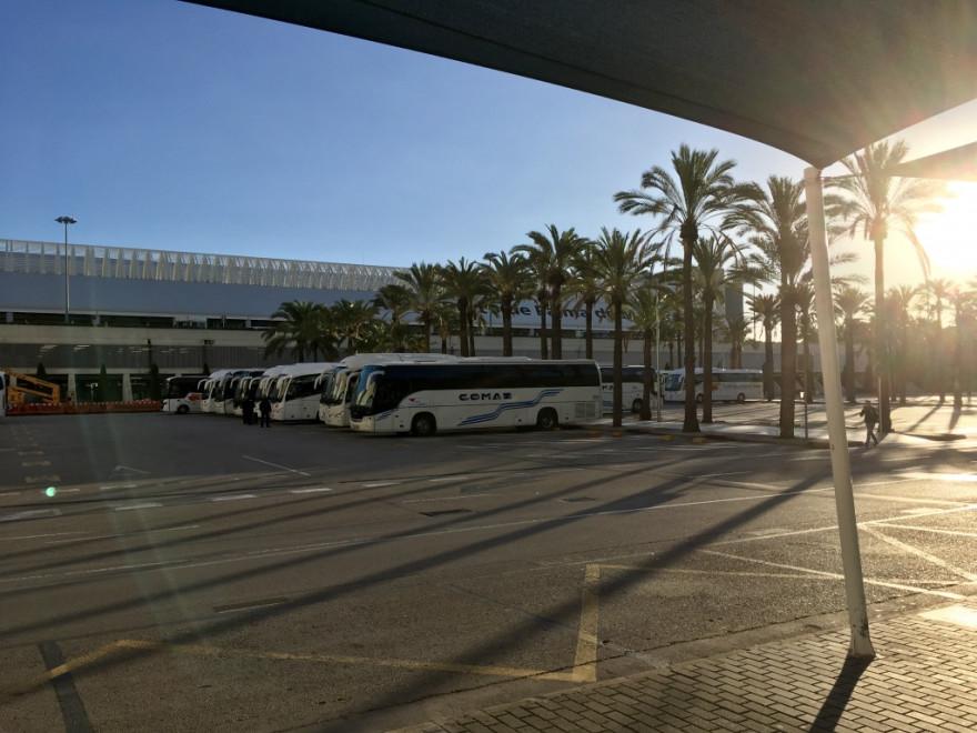 Ankunft Flughafen Palma