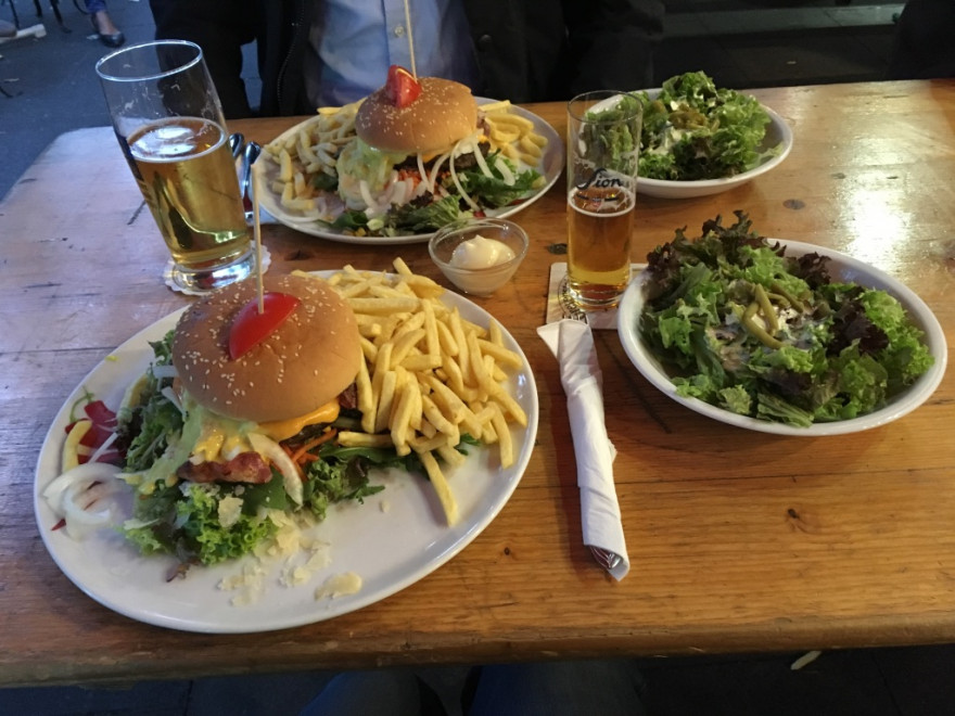Bonn Lennesnack Burger zum Abschied 3