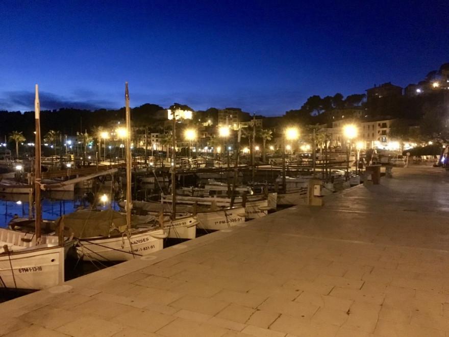 Port de Soller Strand Bocadillo und Orangenexpress 1
