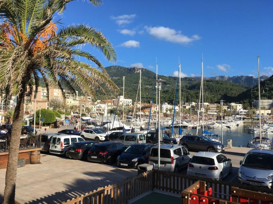 Port de Soller Strand Bocadillo und Orangenexpress 15