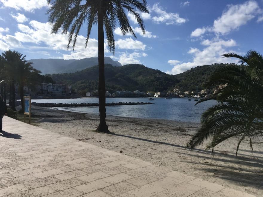 Port de Soller Strand Bocadillo und Orangenexpress 2