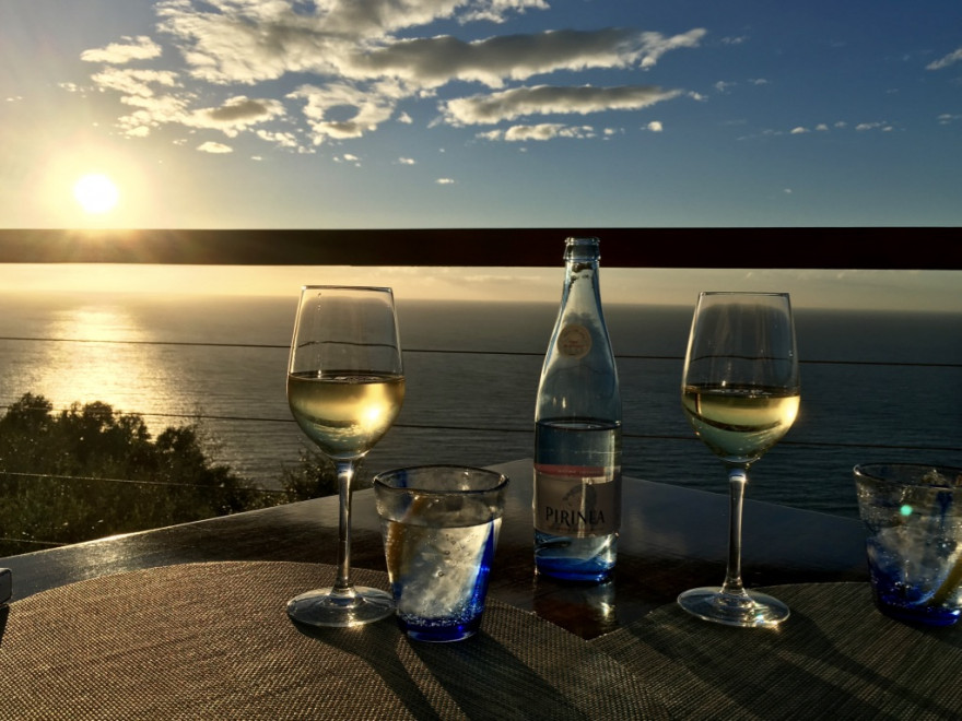 Sa Foradada Paella mit Sonnenuntergang 1