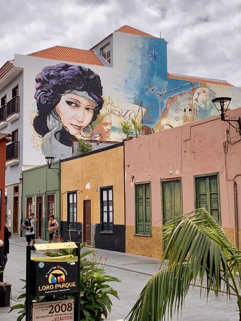 Streetart in Puerto de la Cruz 4