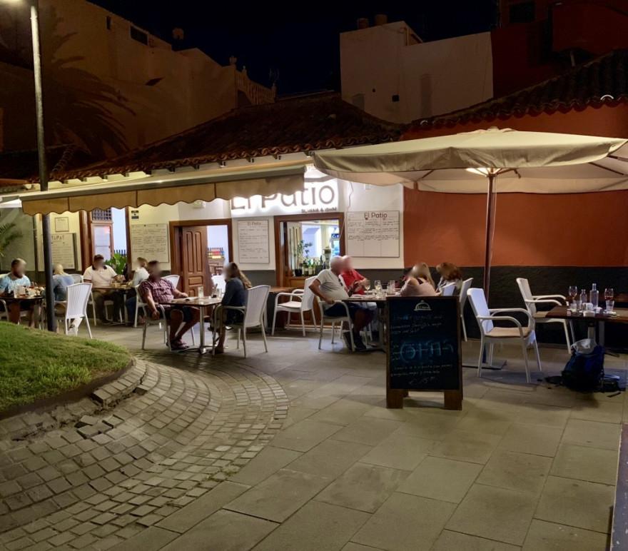 Abendessen im El Patio Puerto de la Cruz 5