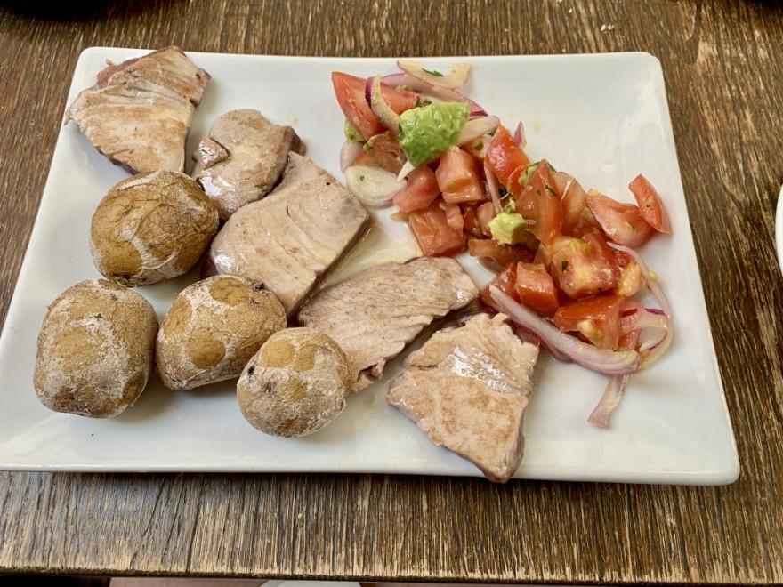 Abendessen im La Hierbita Santa Cruz de Tenerife 4