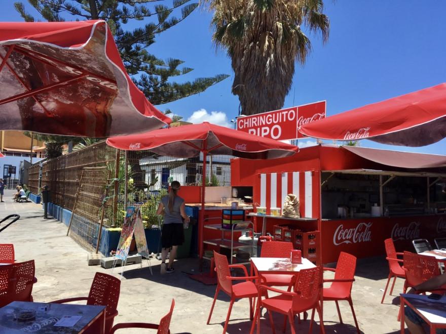 Mittagessen Chiringuito Pipo Puerto de la Cruz 4