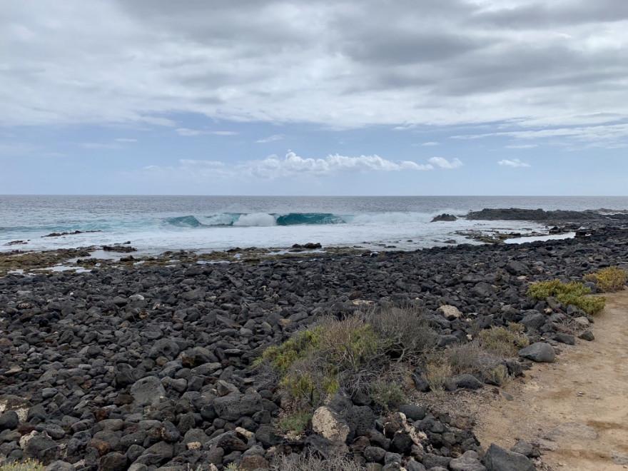 Wandern auf Teneriffa Küstenwanderung Malpais de Rasca 13
