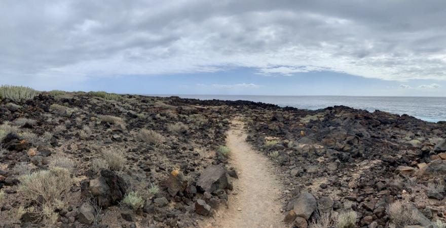 Wandern auf Teneriffa Küstenwanderung Malpais de Rasca 14