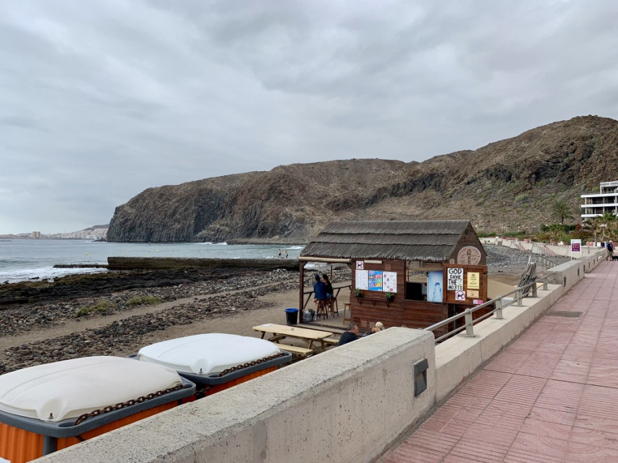 Wandern auf Teneriffa Küstenwanderung Malpais de Rasca 17