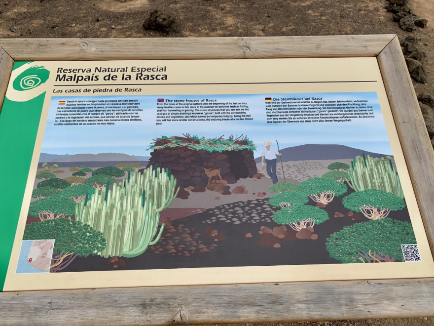 Wandern auf Teneriffa Küstenwanderung Malpais de Rasca 5