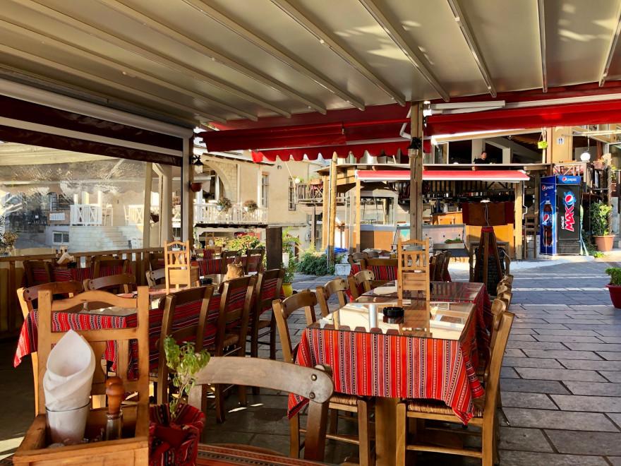 Abendessen in der Taverna Nikos Chora Sfakion 1