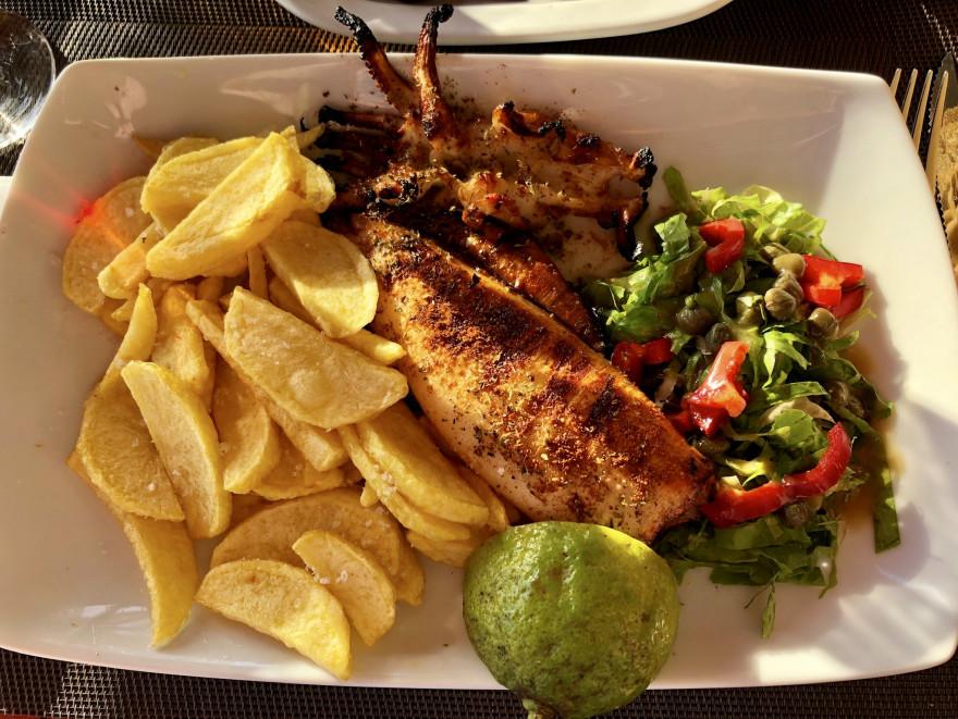 Abendessen in der Taverna Nikos Chora Sfakion 3