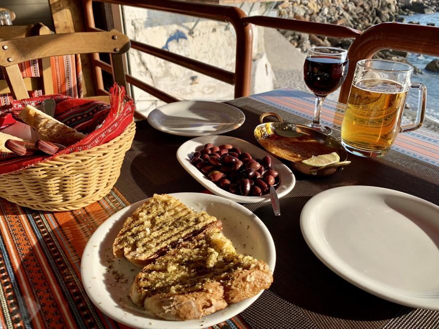 Abendessen in der Taverna Nikos Chora Sfakion 4
