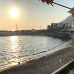 Abendessen mit Sonnenuntergang in Chora Sfakion 3