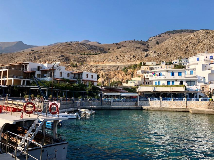 Im Hafen von Chora Sfakion 1