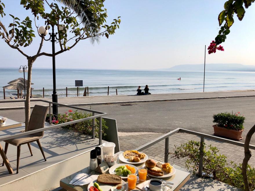 Kreta Frühstücksaussicht Corissia Beach Georgiopoulis 3