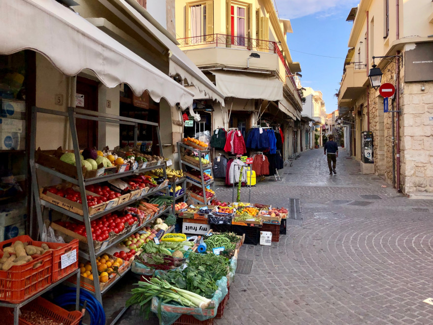Stadtbummel durch Rethymnon 22