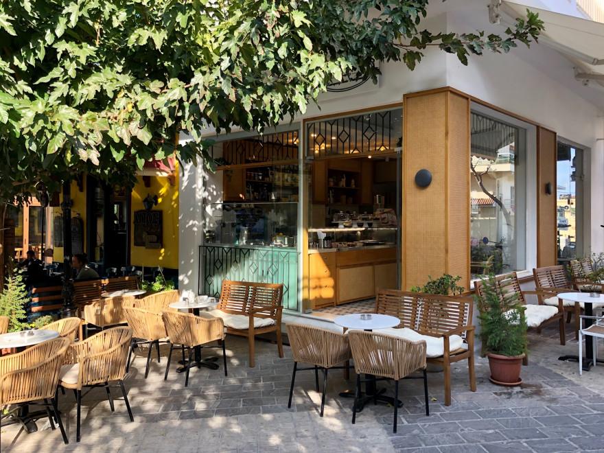 Törtchen im Cafe Patisserie Karakatsanis Paleochora 7